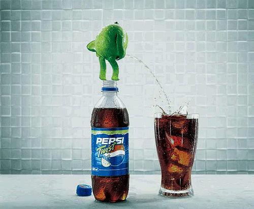 Citrinų skonio Pepsi
