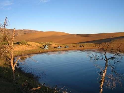 Oazė Mongolijoje