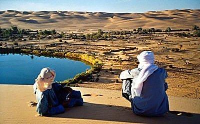 Klajokliai Saharoje
