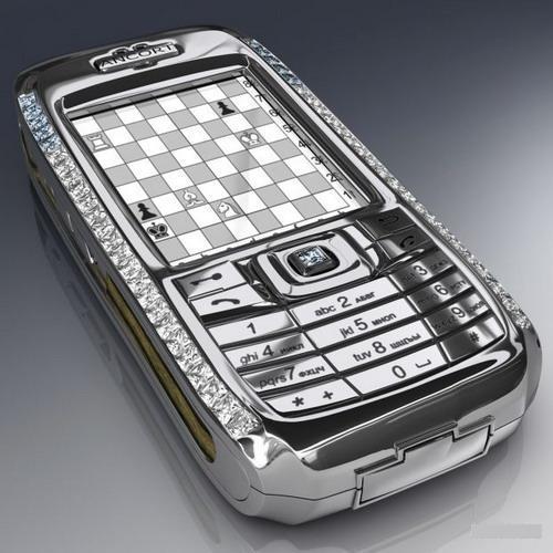 """Ancort Diamond Crypto Smartphone"""