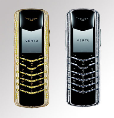 """Vertu Signature Diamonds"""