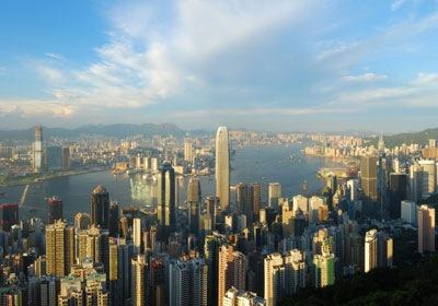 Hong Kongas (nuotr. Cheng Chang/iStockphoto)